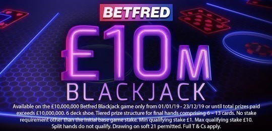Betfred Blackjack