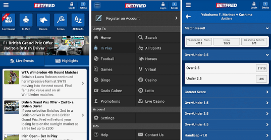 Betfred Mobile